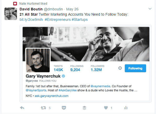 How to Use Hashtags to Promote Your Business on Twitter Twitter  Hashtags_for_Gary_Vee_Tweet