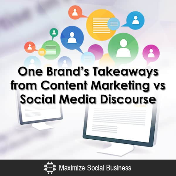 One Brand's Takeaways on Content Marketing vs Social Media Content Marketing  One-Brands-Takeaways-from-Content-Marketing-vs-Social-Media-Discourse-600x600-V2