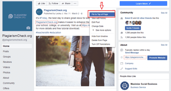 The Latest Trends of Facebook Business Page Optimization Facebook  55-600x319