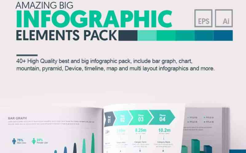 Amazing Big Bundle Infographic Elements