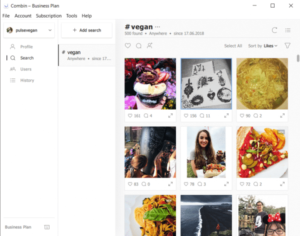 Gain Unprecedented Visibility into Your Instagram Marketing Efforts with Combin Instagram  Search_Hashtag_search_results-600x472