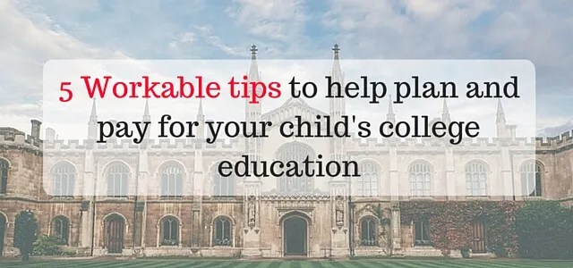 Tips to help pay for college