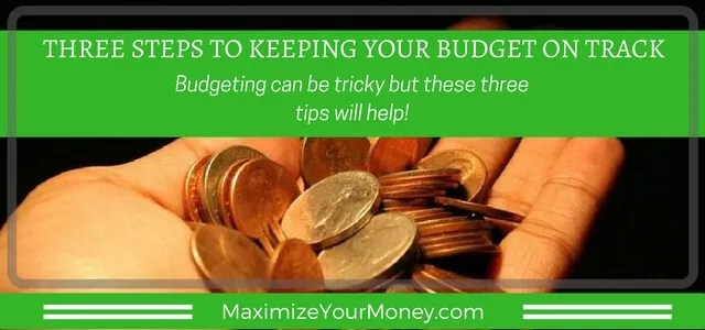 Financial Coaching tips to help with budgeting