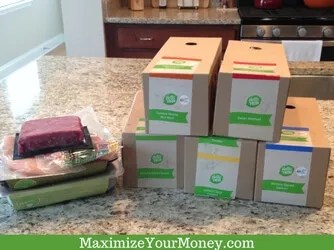 HelloFresh - What's in the box?