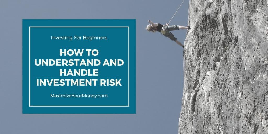 Investing for beginners: Investment Risk