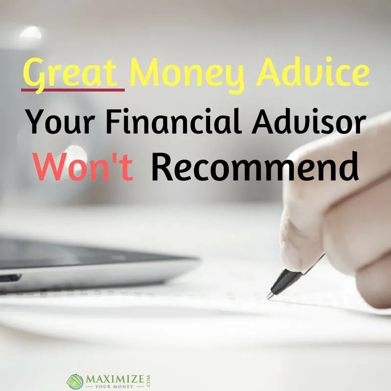 from Maxim dating your financial advisor