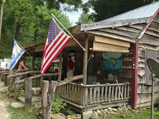 Betsey's Ole Country Store and Trout Pond is on Highway 90 by the Mortimer Campground.  Bruce Gray has owned the store and adjacent facilities for 20 years (he even has wi-fi).  He first visited the area as a child with his Father who had trained in the here with the Green Berets in the 1950s.