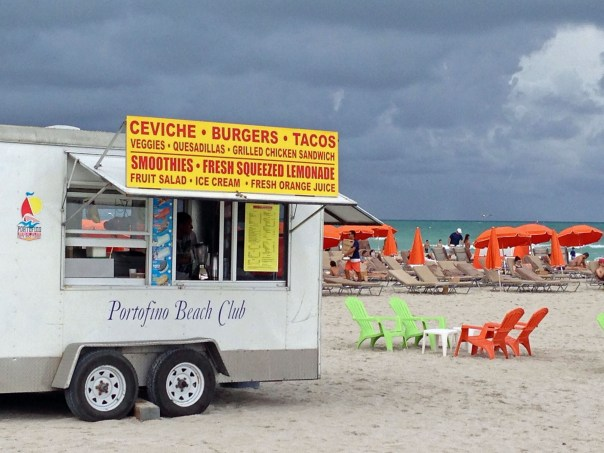 Miami has seriously embraced the food truck craze, and the Beach is no exception.