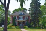 In our friend's central Fargo historic neighborhood, the former Mayor's home, from the mid-1800s.