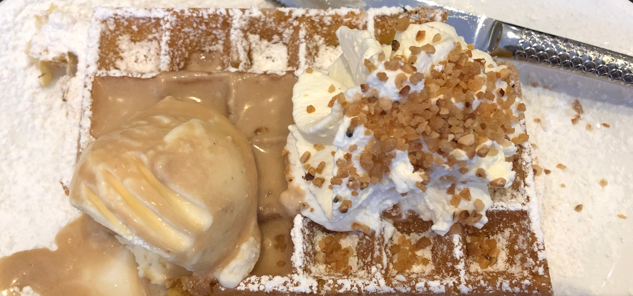 The Real Belgian waffles.