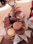 Delicious tea treats at Excelsior Hotel Ernst, Cologne.