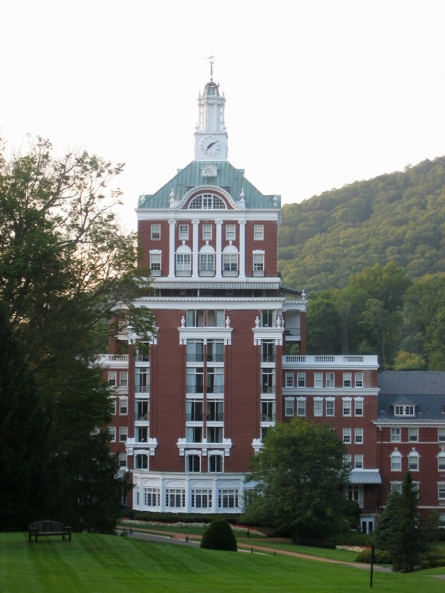 Iconic tower, The Homestead, Hot Springs, VA