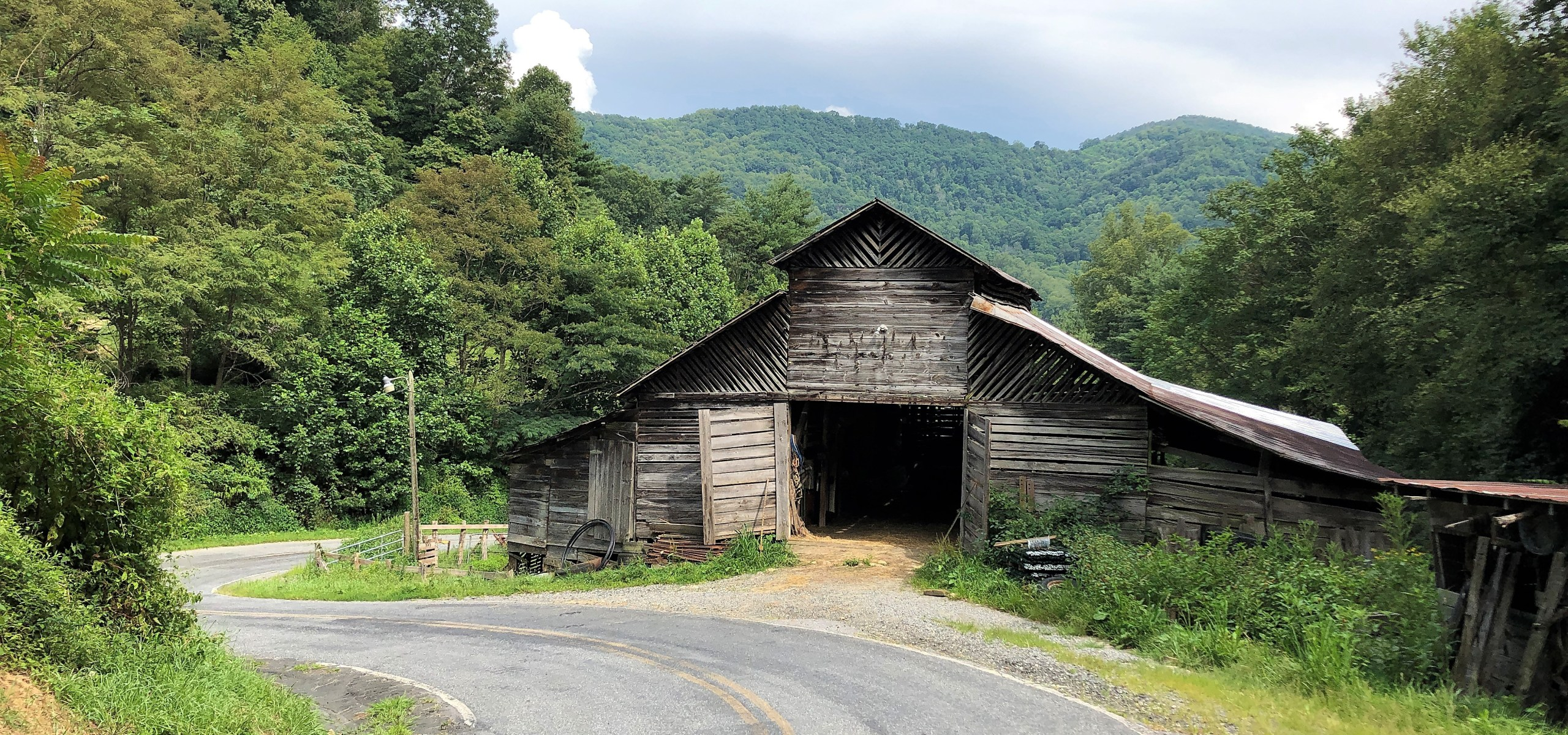 Historic Wild Barn, Madison County, NC