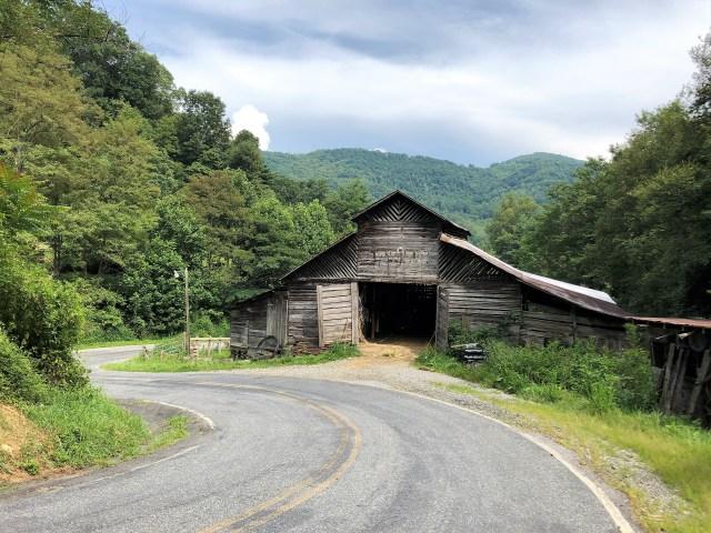 Historic Wild Barn, Madison County, NC