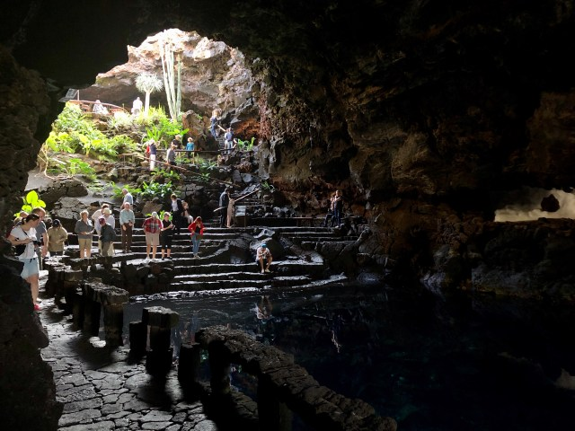 Jameos del Agua, Lanzerote, Canary Islands.