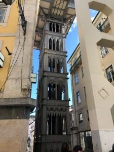 Lisbon's Elevador De Santa Justa