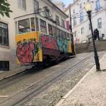 Elevador da Gloria, funicular in Lisbon.