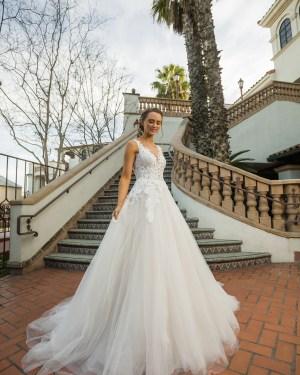 Wedding dress, Maxims Wedding, Princess, Plus size,Tulle Lace