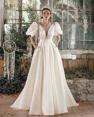 lace, tulle, crepe, satin, belt, plus size, Maxims wedding, gown, dress, wedding, A line, Mermaid, Boho, Princess, Ariamo, new collection 2022lace, tulle, crepe, satin, belt, plus size, Maxims wedding, gown, dress, wedding, A line, Mermaid, Boho, Princess, Ariamo, new collection 2022