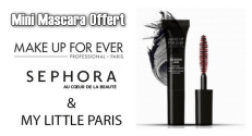 Sephora : Mini mascara Excessive Lash de Make Up For Ever offert
