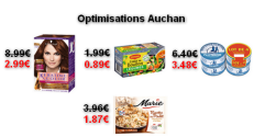 Auchan : Promotions et optimisations (Du 13 Octobre au 19 Octobre 2017)