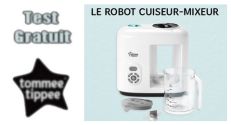 Tommee Tippee Test Gratuit : Robot cuiseur-mixeur Tommee Tippee