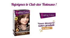 Club des Testeuses Eugène Color : Testez gratuitement la coloration Marron Cannelle Color&Eclat Eugène Color