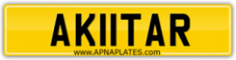 AK11TAR \ AKHTAR NUMBER PLATE