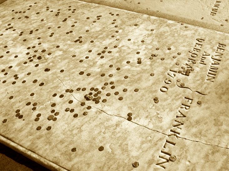 Ben Franklin's Grave, Philadelphia