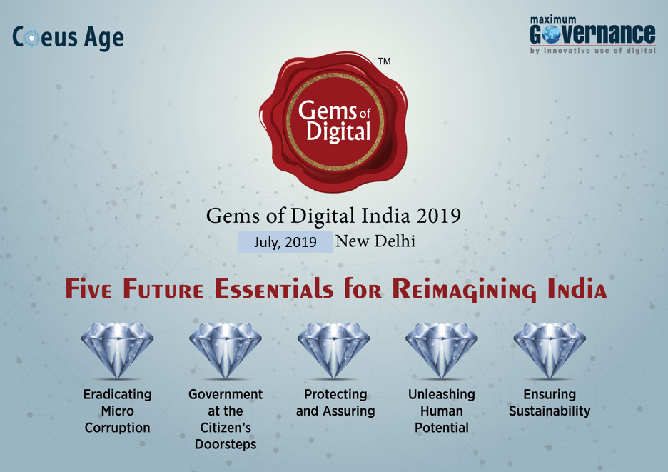 Gems of Digital India 2019 - The Search is On! - Maximum Governance