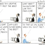 The Copywriter And The Creative Brief