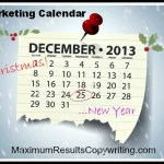 Looking Ahead – Marketing Calendar December 2013