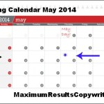 Looking Ahead – Marketing Calendar May 2014