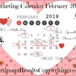 Loooking Ahead – Marketing Calendar February 2018