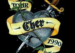 Cher Logo: illustration by Maxine Miller