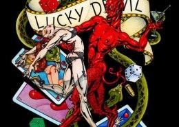 Lucky Devil: illustration by Maxine Miller