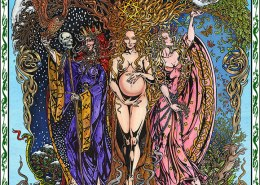 Celtic Oracle Deck (Triple Goddess) - art by Maxine Miller
