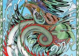 Celtic Oracle Deck (Mannan) - art by Maxine Miller