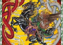 Celtic Oracle Deck (Nuada) - art by Maxine Miller