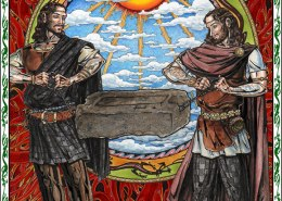 Celtic Oracle Deck (Stone of Destiny) - art by Maxine Miller