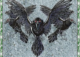 Celtic Oracle Deck (Ravens) - art by Maxine Miller