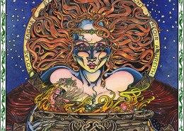 Celtic Oracle Deck (Cerridan) - art by Maxine Miller