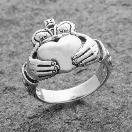 Irish Claddagh Ring: Design by Maxine Miller