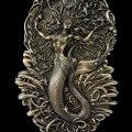 Celtic Mermaid Goddess Áine Wall Plaque Cold Cast Bronze by Maxine Miller ©celticjackalope.com