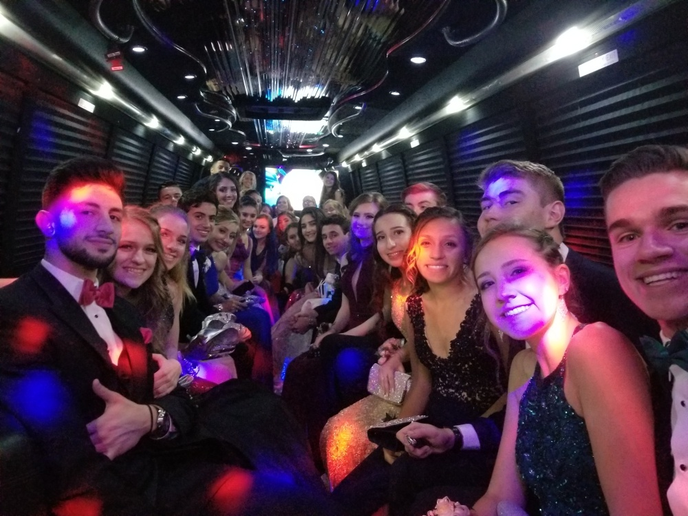 Boston Party Bus Prom - Governor Oliver Ames Estate