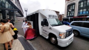Party Bus for your Quinceanera