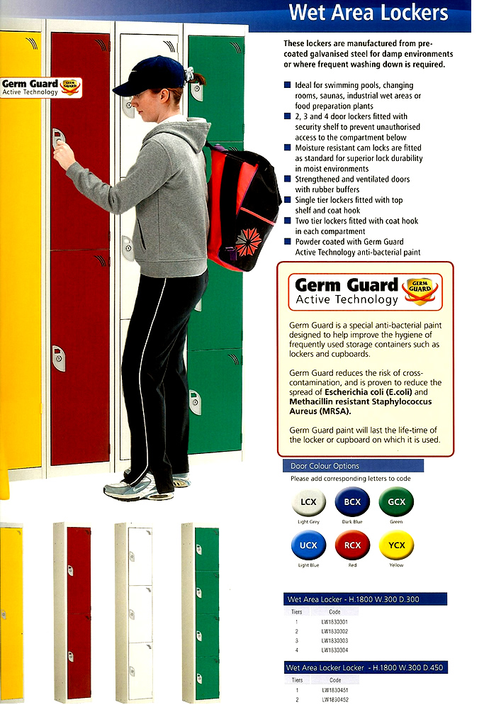 Gym lockers for sale | sports centre lockers | Leisure locker suppliers Ireland | Leisure Lockers & swimming pool lockers for sale | Wet Area Lockers for sale