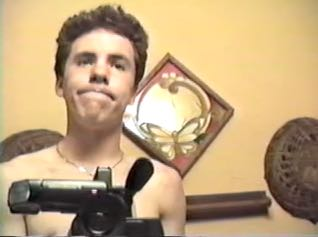 Young Max with Video Camera