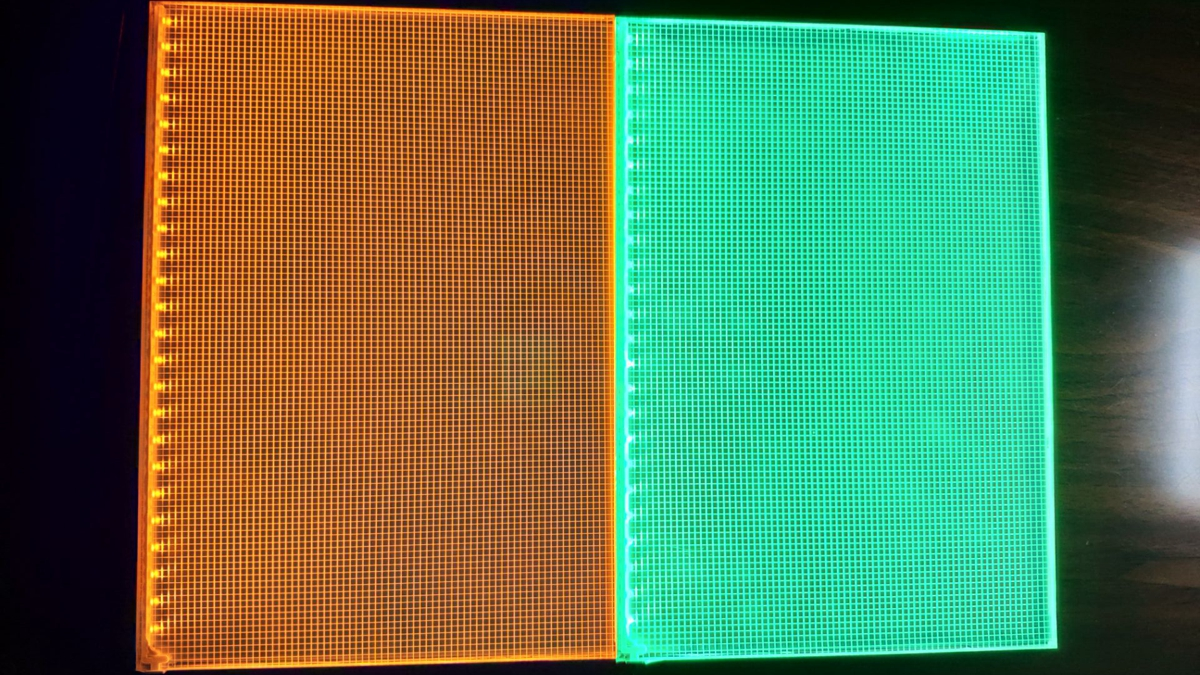 EDGE-LIT LED LIGHT PANEL