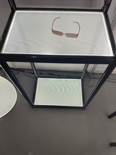 Double Side Illuminated Shelf